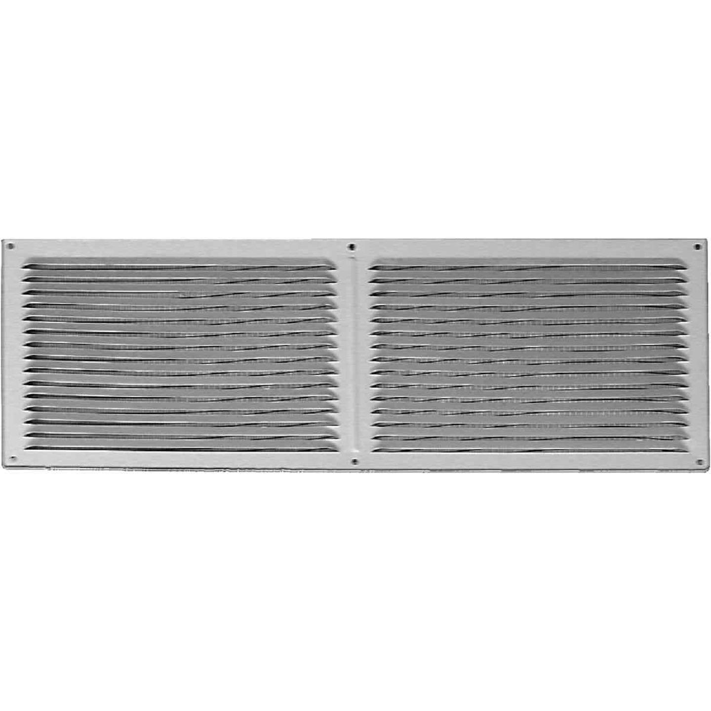 NorWesco 16 In. x 6 In. Galvanized Soffit Ventilator Image 1
