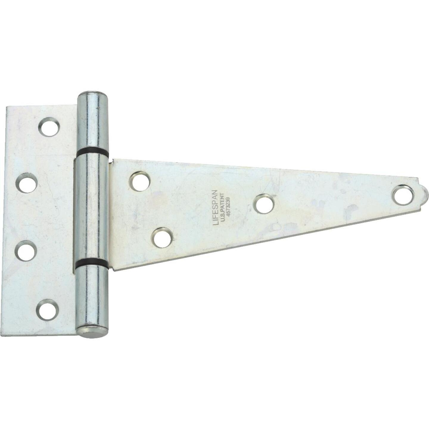 National 6 In. Zinc-Plated Steel Heavy-Duty Tee Hinge Image 1