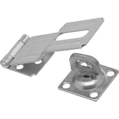 National 4-1/2 In. Zinc Swivel Safety Hasp
