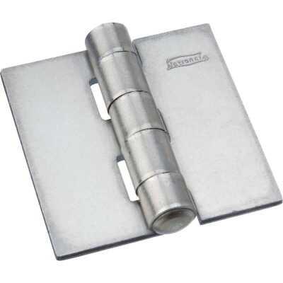 National 2 In. Square Plain Steel Weldable Door Hinge