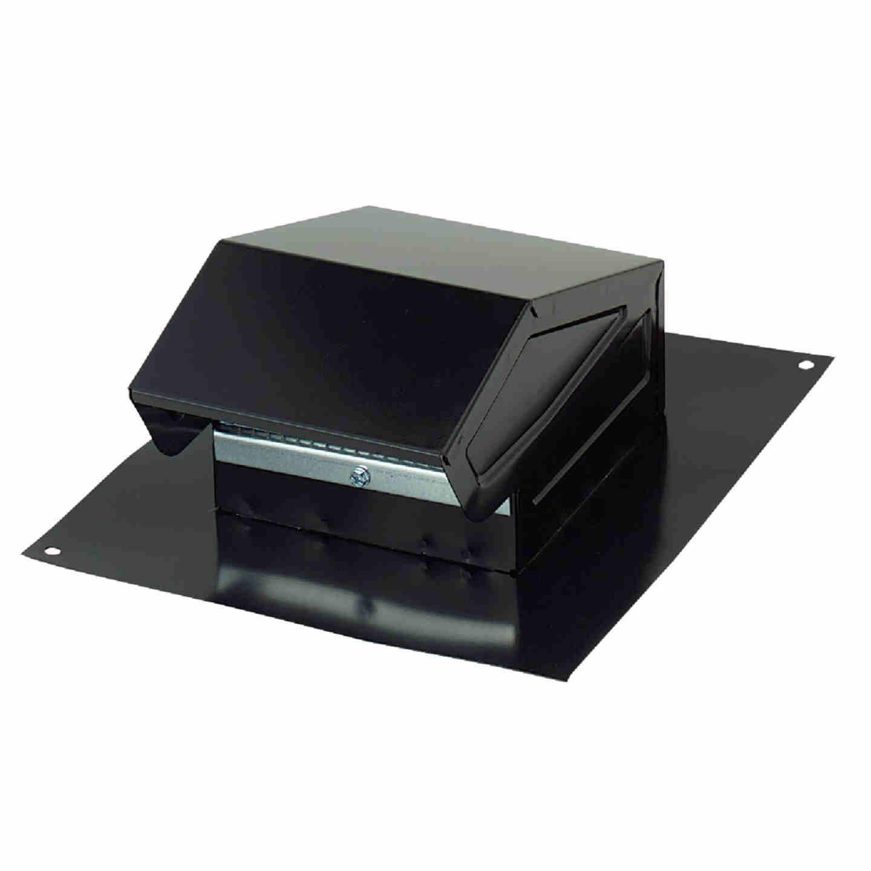Broan-Nutone 3 In. or 4 In. Black Steel Roof Vent Cap Image 1