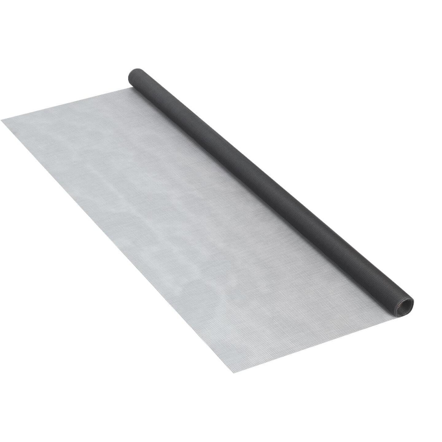 Phifer 30 In. x 84 In. Charcoal Fiberglass Screen Cloth Ready Rolls Image 2