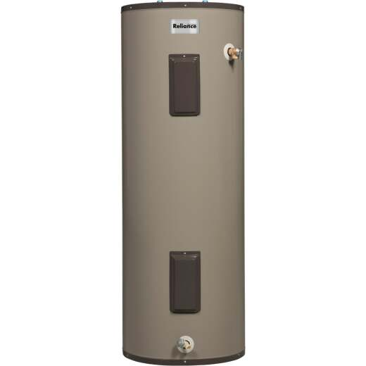 Reliance 40 Gal. Tall 9yr Self-Cleaning 4500/4500W Elements Electric Water Heater