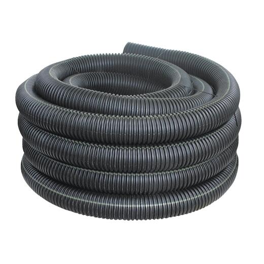 Advanced Basement 4 In. X 100 Ft. Corrugated Solid Drainage Pipe