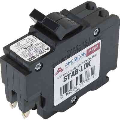 Connecticut Electric 20A Double-Pole Standard Trip Packaged Replacement Circuit Breaker For Federal Pacific