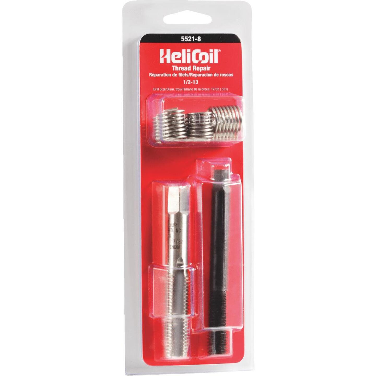 HeliCoil 1/2-13 Stainless Steel Thread Repair Kit Image 1