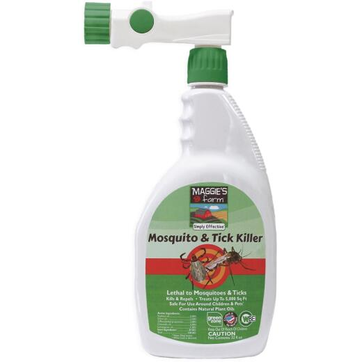 Maggie's Farm 32 Oz. Ready To Spray Hose End Tick & Mosquito Killer