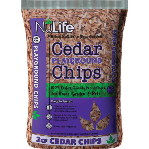 NuLife 2 Cu. Ft. Cedar Playground Mulch Chips