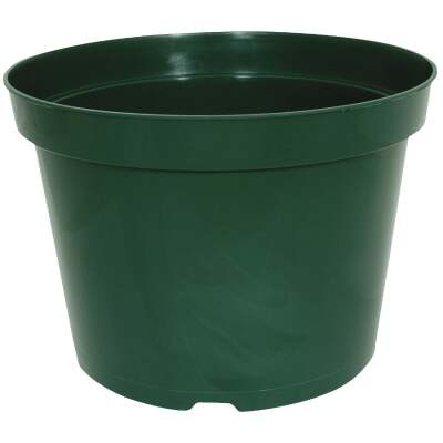 Myers 3-1/2 In. H x 4 In. Dia. Green Poly Flower Pot