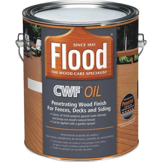 Flood CWF Alkyd/Oil Base Natural Wood Finish, Natural, 1 Gal.