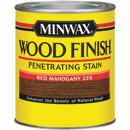 Minwax Wood Finish Penetrating Stain, Red Mahogany, 1/2 Pt.