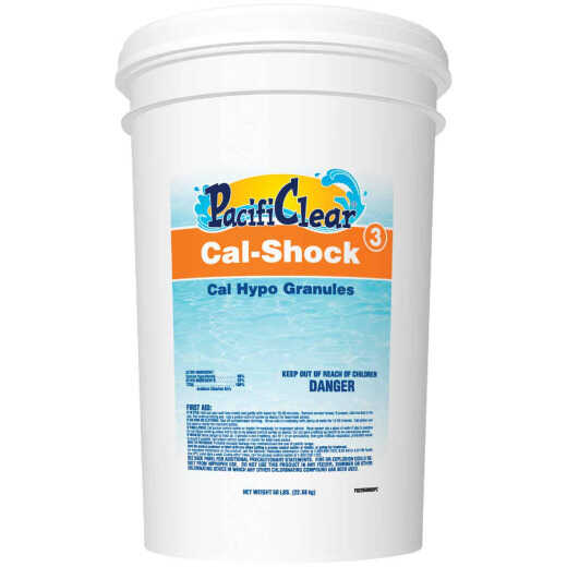 PacifiClear Cal-Shock 50 Lb. Granule
