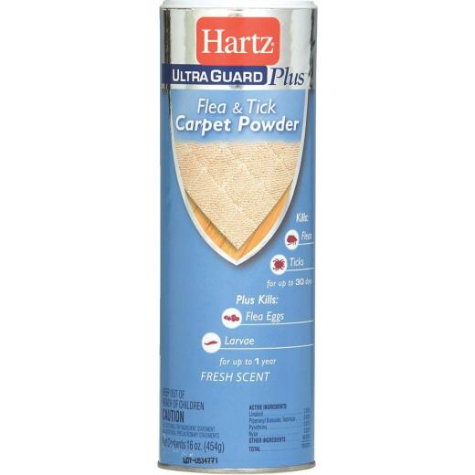 Hartz UltraGuard Plus 16 Oz. Powder Flea & Tick Control